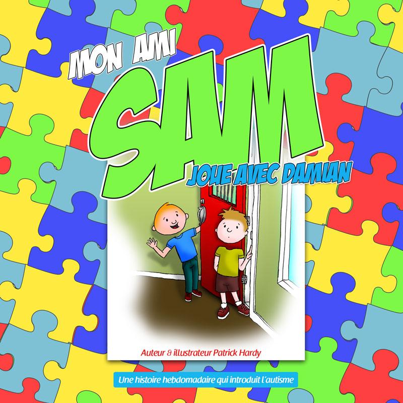 Très Accueil | Mon ami Sam | Une série de livre qui parle d'autisme TO58